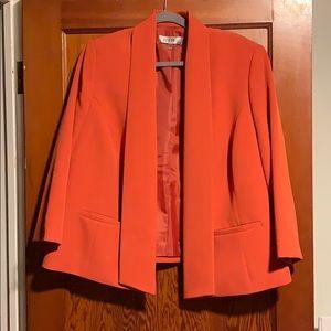 Orange Kasper Blazer